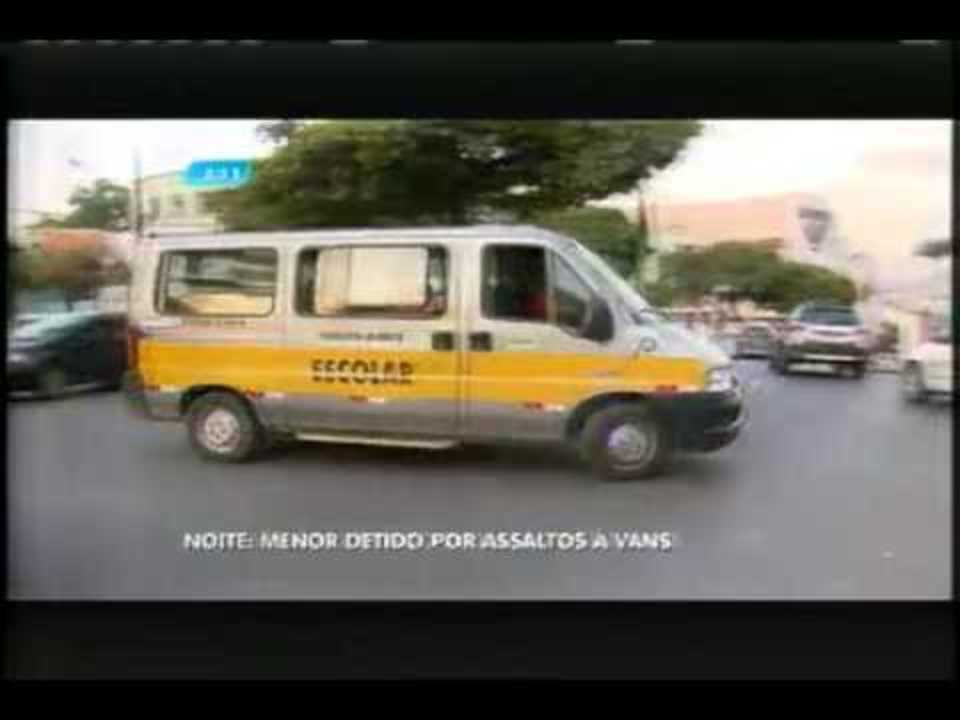 Polícia apreende suspeito de roubar vans escolares em Belo Horizonte