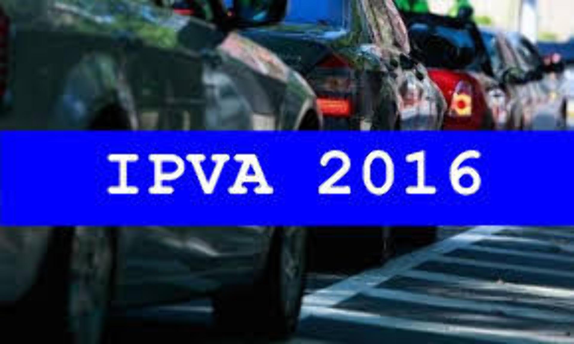 Isenção de IPVA inicia dia 16/11/2015